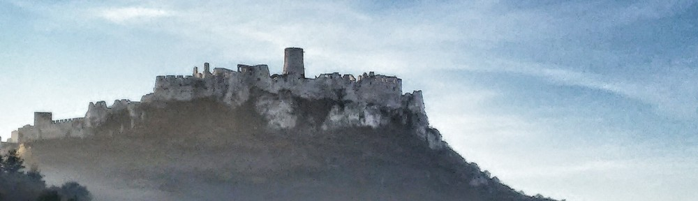 Spiš Castle as seen from the entrance road - the castle concealed a dark secret beneath it for over 1,800 years