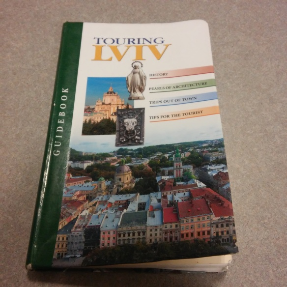 Baltia-Druk's Touring Lviv Guidebook - A Rare & Lucky Find