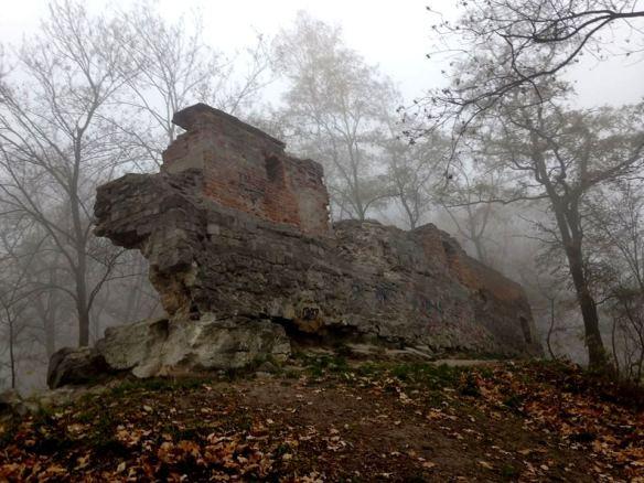 Ruin of Lviv's High Castle