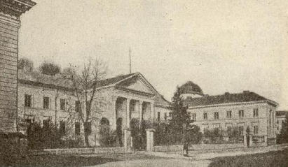 The Ossolineum Institute in its pre-World War II heyday in Lwów