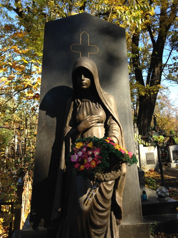 Tombstone at Yanivsky Cemetery