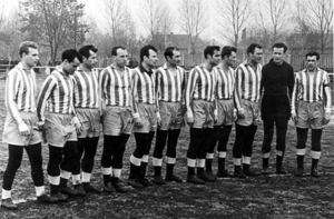 Karpaty Lvov - the first team in 1963
