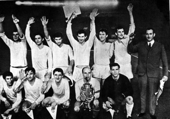 Karpaty Lvov - miracle men of the 1969 Soviet Cup