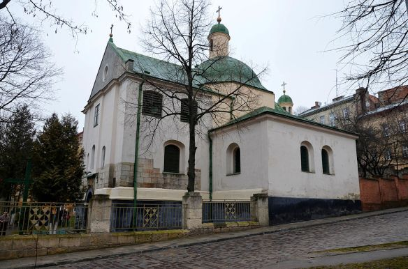 Side view - Church of St. Nicholas in Lviv