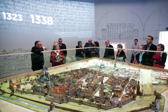 The Panorama of Old Lwów on display in Wrocław