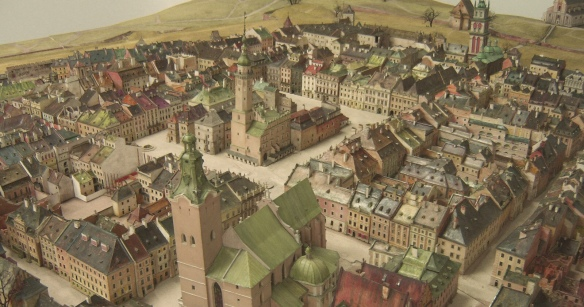 The Plastic Panorama of Old Lwów