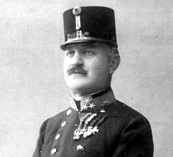 Colonel Alfred Redl in 1907