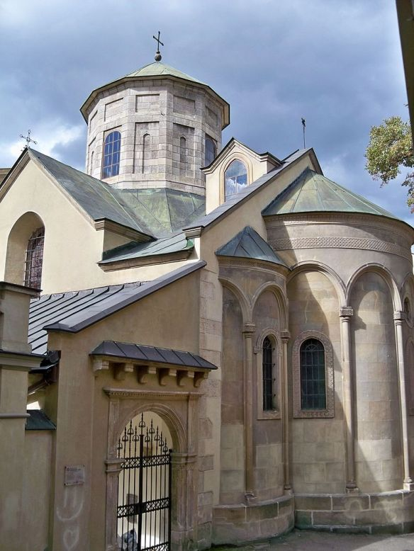 Exterior view of the Armenian Cathedral