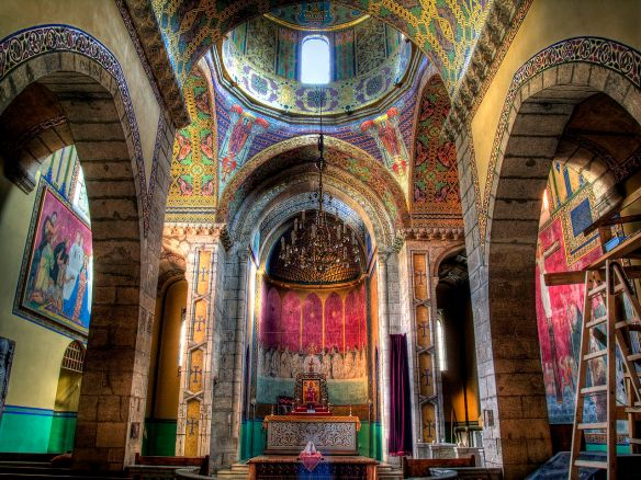 Interior of the Armenian Cathedral in Lviv