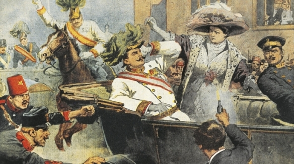 Assassination of Archduke Franz Ferdinand in Sarajevo