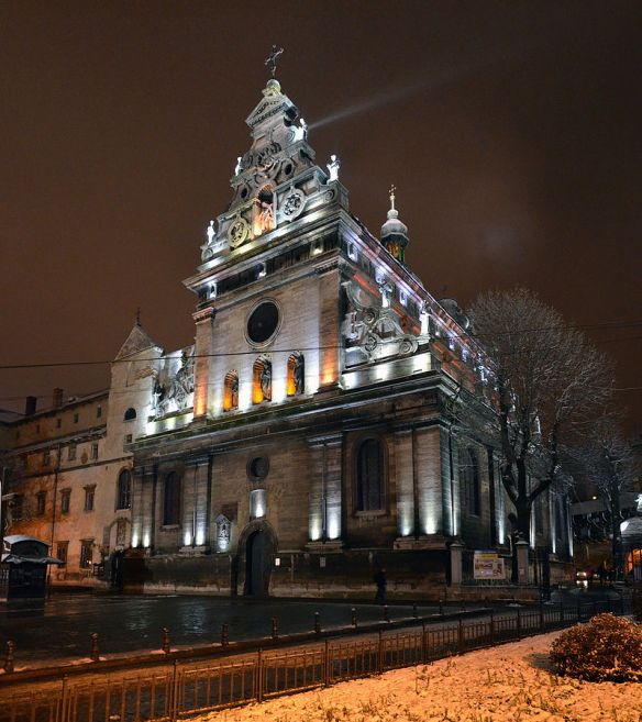 Bernardine Church in Lviv - Greek Catholic Church of St. Andrew