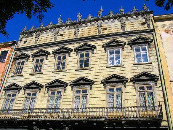 Korniakt Palace in Lviv
