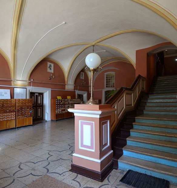 Interior of former Archbishops Palace at Rynok 9
