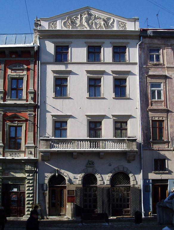 Massari Mansion at 24 Rynok Square