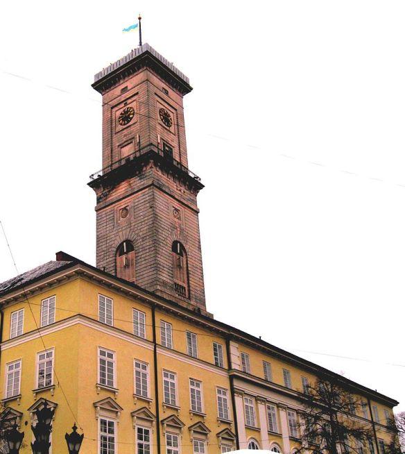 Lviv's Ratusha (Town Hall)