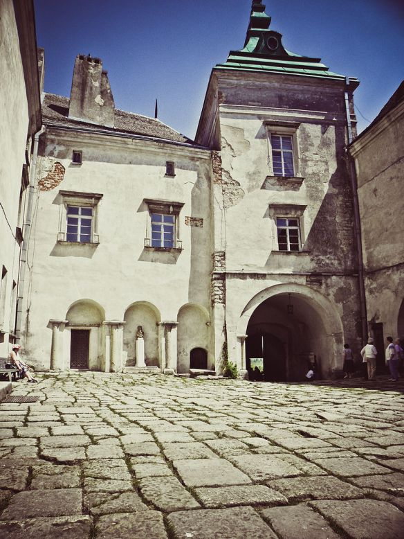 Courtyard at Olesko Castle