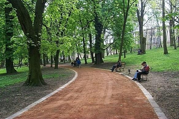 Ivan Franko Park in Lviv