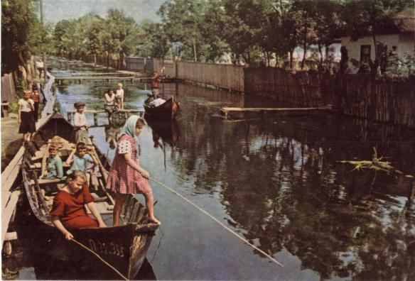 Vylkove - The Ukrainian Venice in 1962
