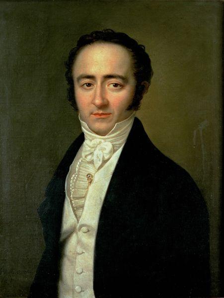 Franz Xaver Mozart in 1825