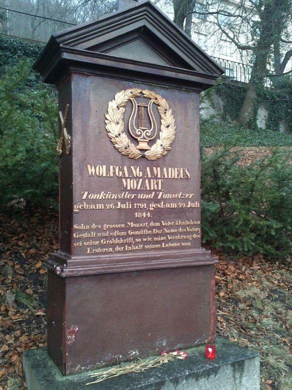 Grave of Franz Xaver Mozart