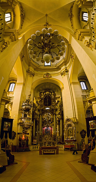 Interior of St. George's Cathedral