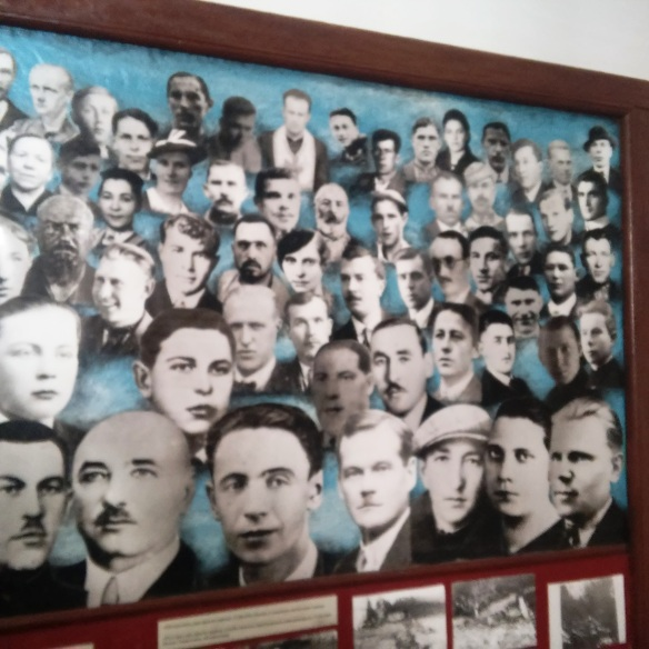 Victims - faces of those murdered by the Soviet NKVD at Zolochiv Castle