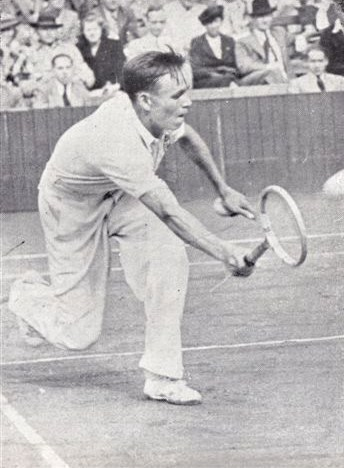 József Asbóth in action prior to World War II