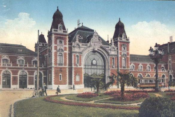 Ferenc Pfaff designed Debrecen Railway Statio