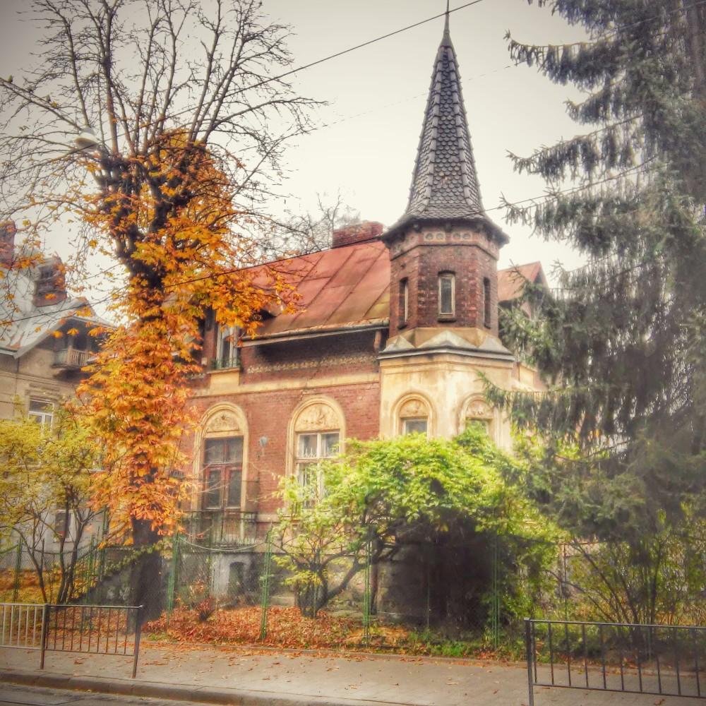 Ostroverkhova Villa - at Vul. Henerala Chuprynky 21 in Lviv
