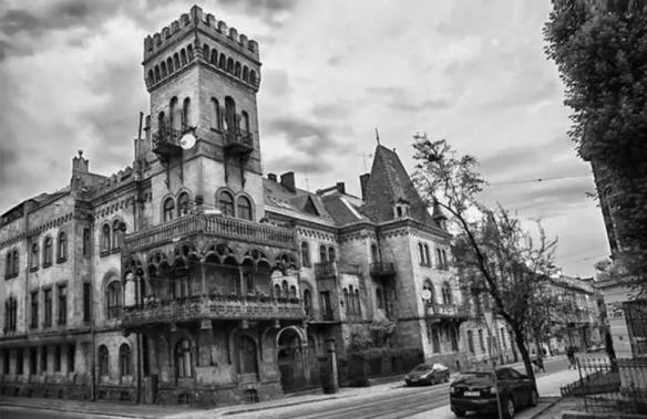 A Fantastical Funhouse & Castle in Lviv's Kastelivka District