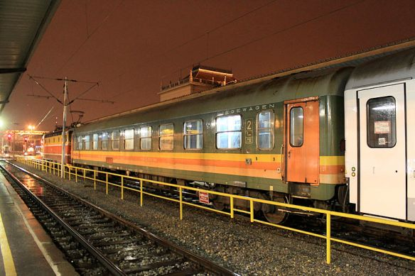 Serbian train car
