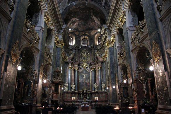 Interior of Sts. Peter & Pauls Garrison Church in Lviv