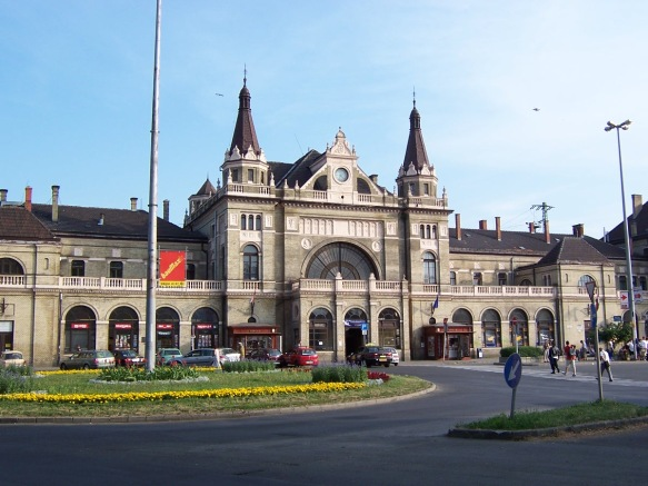 Train station in Pecs, Hungary