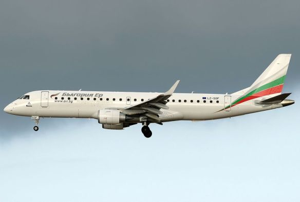 Taking flight - Bulgaria Air