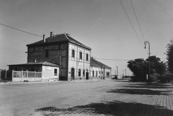 Former Szolnok Train Station