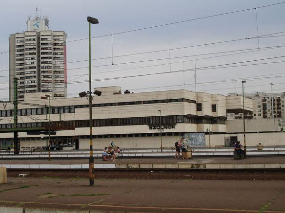 Szolnok Railway Station