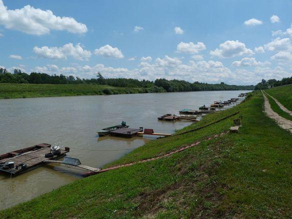 Tisza River at Szolnok, Hungary