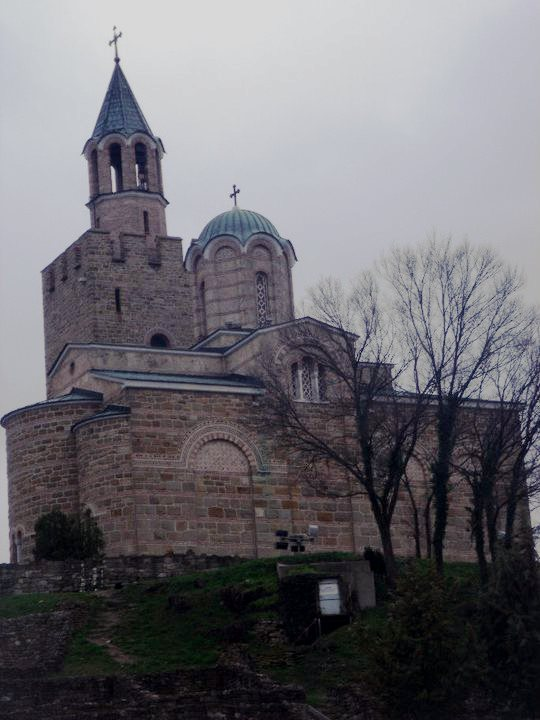 Church of the Blessed Savior - crowning the top of Tsarevets
