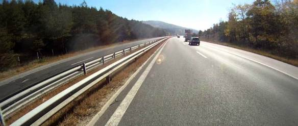 Surprisngly smooth - On the road in Bulgaria