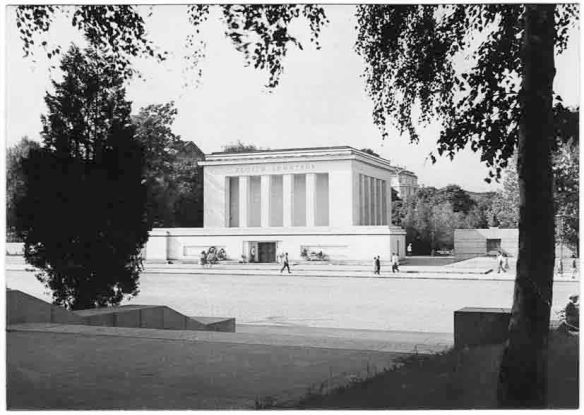 The Georgi Dimitrov Mausoleum - stood in Sofia from 1949 to 1999