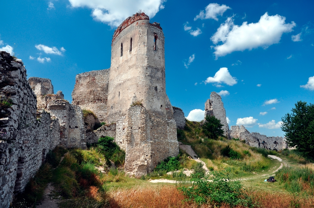 Cachtice Castle as it looks today