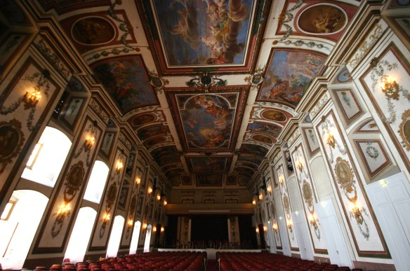 Haydnsaal at Schloss Esterhazy