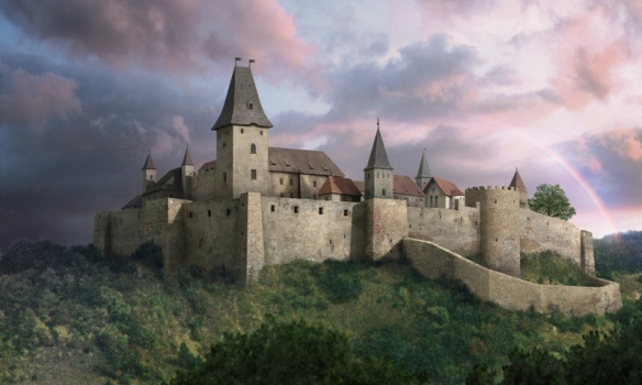 Reconstruction of Cachtice Castle
