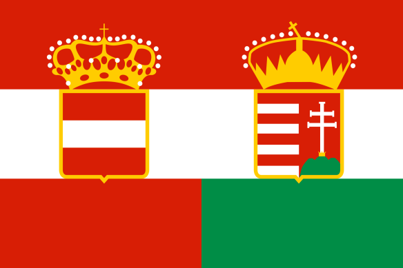 Civil Flag of Austria-Hungary