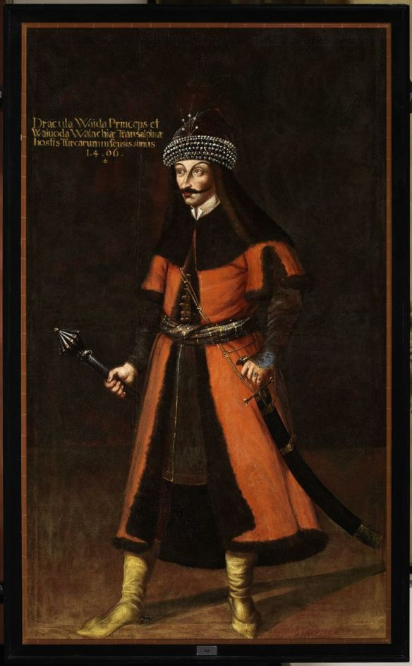 Painting of Vlad the Impaler at Forchtenstein Castle