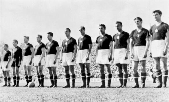 The 1954 Hungarian World Cup team