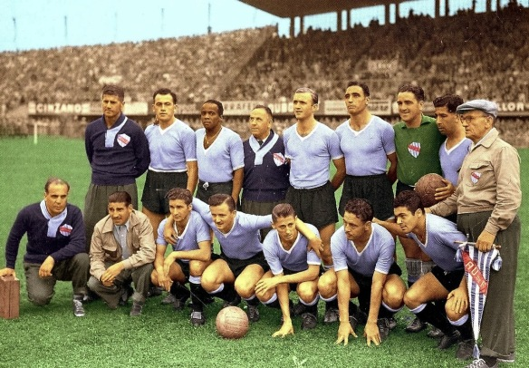 Uruguay's 1954 World Cup team