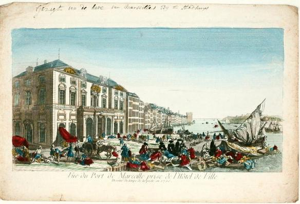 An 18th century perspective of the Great Plague Of Marseilles