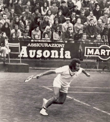 Ion Tiriac - the self-confessed best tennis player in the world who cannot play tennis