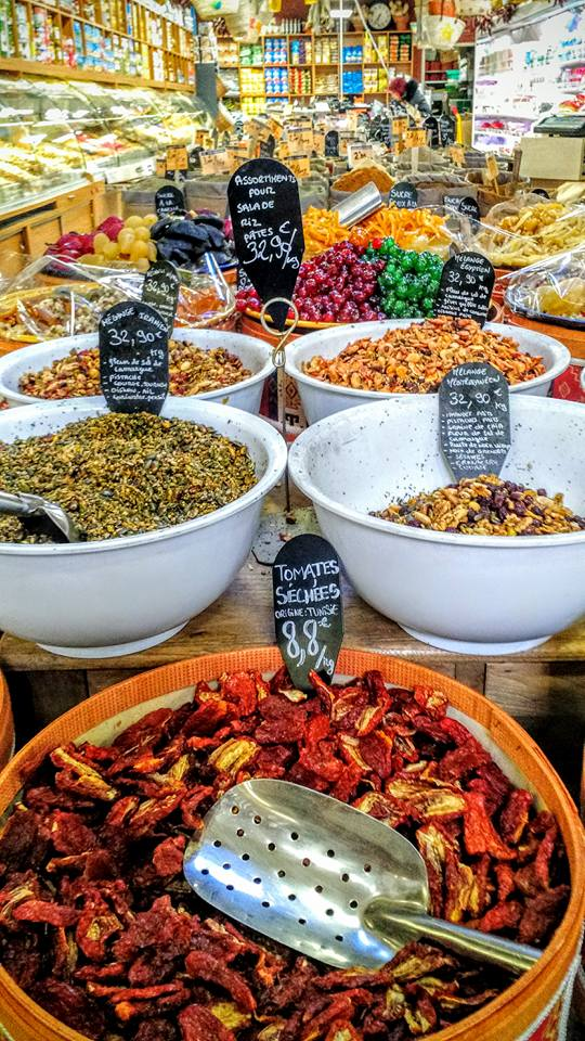 Spice of life - in the Arab market area of Marseille